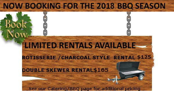 BBQ season booking