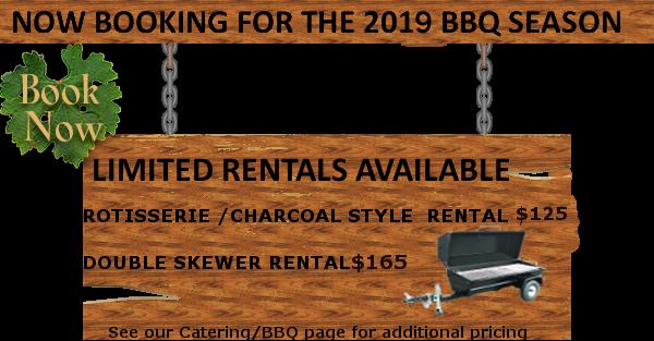 BBQ season booking
